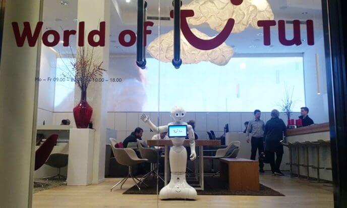 Humanoid robot teams up with TUI Germany