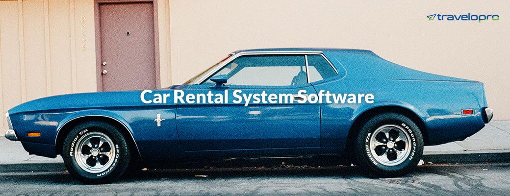 Car Rental System Software